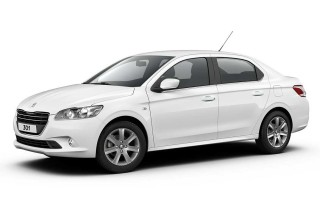 peugeot 301 white plaka rent a car vehicle