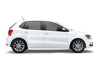 polo white plaka rent a car vehicle